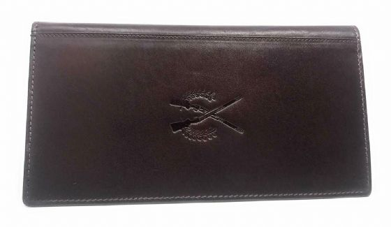 Shotgun & Firearm Gun Certificate Wallet  Licence Holder Premium Leather OxBlood